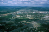 Fairbanks, aerial view