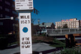 Fairbanks, milepost 1523 of Alaska Highway