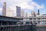 Seattle, Washington State Ferry Terminal near Alaskan Way and Marion Streets