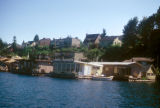 Seattle, houseboats on Lake Union in Portage Bay