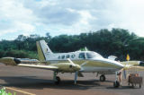 Kaanapali, Cessna airplane on runway
