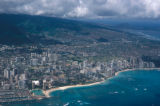 Honolulu, aerial view of Waikiki