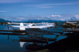 Anchorage, float planes at Hood Lake