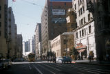 Los Angeles, streetcar on Seventh Street downtown