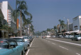 Los Angeles, street scene in Beverly Hills