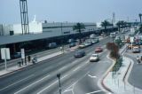 Los Angeles, drop-off lanes outside Los Angeles International Airport