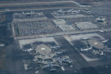 Los Angeles, aerial view of Los Angeles International Airport