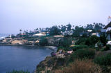 San Diego, views of oceanfront homes in La Jolla