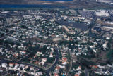 San Diego, aerial view of residential area