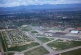 Denver, view of city and Front Range mountains