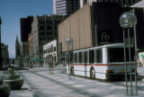 Denver, shuttle bus on 16th Street Mall