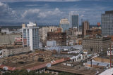 Denver, panoramic view of downtown
