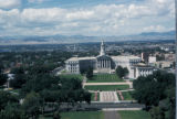 Denver, view of Civic Center Park and City and Country Building