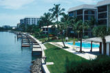Naples, waterfront apartments on Gulf Intracoastal Waterway