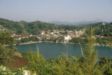Kandy, panoramic view of Kandy and Kandy Lake