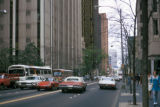 Atlanta, street scene near Peachtree Center