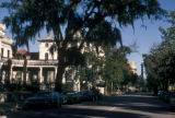 Savannah, Bull Street with Monterey Square visible