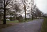 Memphis, residential street in Chickasaw Gardens