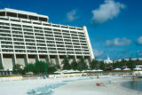 Orlando, Contemporary Hotel beachfront at Walt Disney World resort