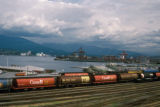 Vancouver, Canadian Pacific Railway yard near waterfront
