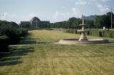 Dallas, Southern Methodist University with Dallas Hall in distance
