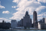 Detroit, view of Civic Center area of waterfront