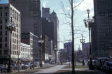 Detroit, street scene on Washington Boulevard