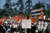 Tokyo, May Day demonstration
