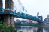 Cincinnati, Roebling Suspension Bridge (Cincinnati-Covington Bridge)