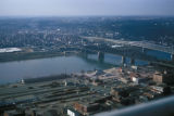 Cincinnati, view of city from Carew Tower