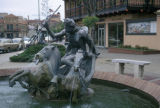 Kansas City, Country Club Plaza Fountain of Neptune