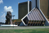 Tulsa, Oral Roberts University, Praying Hands at Main Entrance