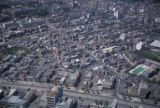 Tokyo, aerial view of residential area