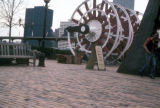 Pittsburgh, paddle wheel in Station Square shopping district
