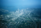 Miami, aerial view of city