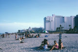 Miami Beach, beachfront scene