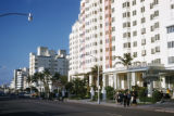 Miami Beach, Sagamore Hotel and Delano Hotel on Collins Avenue