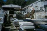 Concord, workers in granite quarry