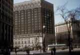 Detroit, Grand Circus Park and Statler Hotel