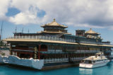 Honolulu, floating restaurant