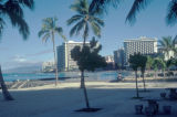 Honolulu, view of Waikiki Beach