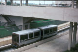 Dallas, airport train for transport between terminals