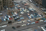 Houston, view of street traffic and parking lot
