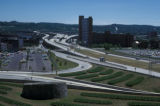 Albany, expressway approaches to the I90 Hudson River bridge