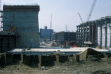 Albany, construction of state buildings south of Capitol