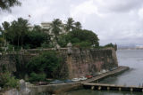San Juan, view of  La Fortaleza (The Fortress) facing San Juan Bay