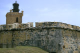 San Juan, Castillo de San Felipe del Morro (promontory) and lighthouse (built in 1908 by US Navy)