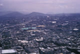 Mexico City, view of city from skyscraper Torre Latinoamericana