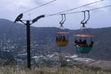 Charlotte Amalie, cable cars on Telepherique Flag Hill