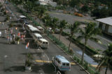 Charlotte Amalie, buses at cruise terminal